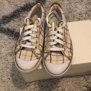 Coach sneakers size 7